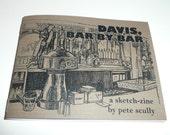 Davis, Bar By Bar, a sketch-zine