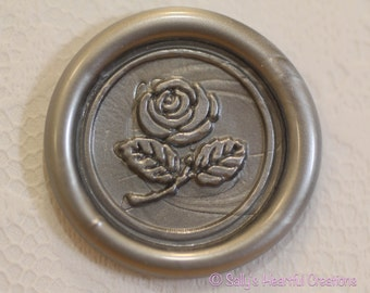 Beauty and the Beast Rose Self Adhesive Flexible Wax Seal