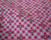 1950s 60s Cotton Fabric 4+ yards