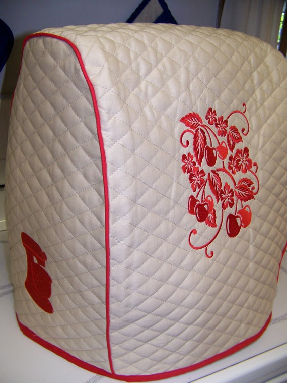 Quilted Embroidered Kitchen Aid Professional Bowl