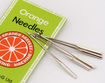 Sewing Machine Needles set of 10 for NORMAL fabric, U7202