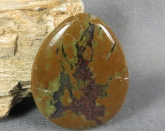 Priday Moss Agate Unique cabochon