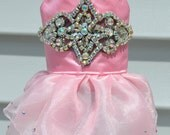 Custom Listing for Zenia - Princess Sparkle Dress & Bunny Tutu Harness Dress