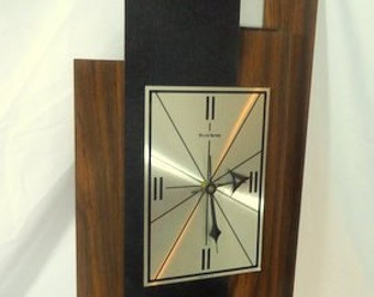 Mid Century Danish Mod Verichron Full Size Wall Clock