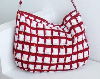 no 213 The Hazel Bag PDF Pattern
