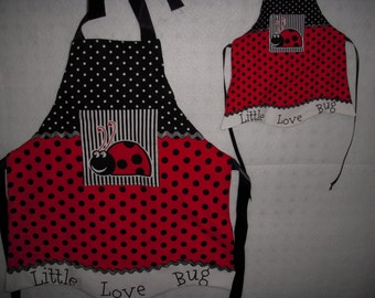 Apron Set for Dolly and Me