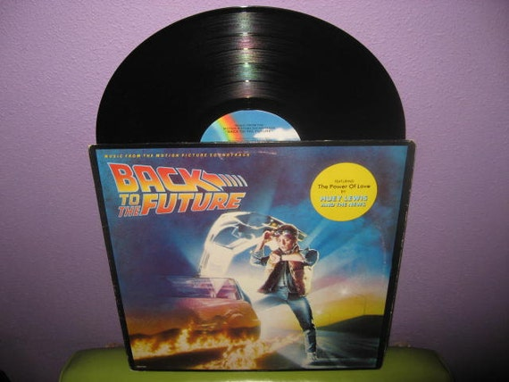 Rare Vinyl Record Back To The Future Orignal By