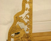 US State of NEW HAMPSHIRE Scroll Saw Plaque