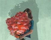 From the Garden . giclee art print