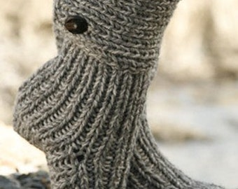 Aran Sock Knitting Pattern : Popular items for boot sock pattern on Etsy