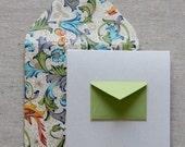 Tiny Envelope Enclosure Cards - Song Bird