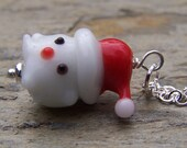 Christmas Necklace Holiday Jewelry Winter Holidays