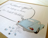 Thank you for Helping us have the PERFECT Wedding - Wedding card kraft and mint - For Wedding Coordinators
