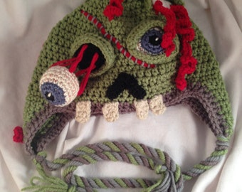 Zombie Hat  ~ Made-to-order ~ CUSTOMIZED for you!