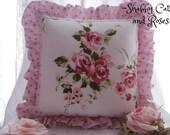OOAK Rachel Ashwell Somerset & Mon Ami Accent Pillow