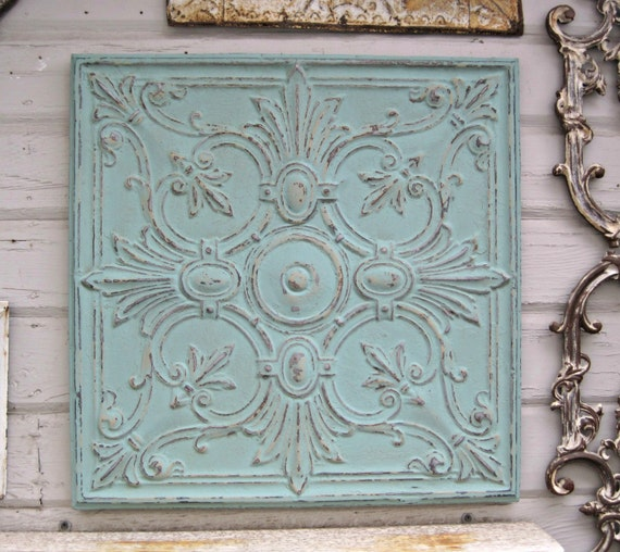 2 X2 Antique Tin Ceiling Tile Circa 1900 Ready To