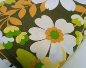 SUMMER BLOOMS vintage fabric