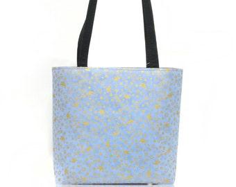 US Handmade Handbag Shoulder Bag With, Happy SHALOM Jewish religion Pattern Cotton Fabric,New, Rare