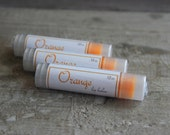 Orange Essential Oil all Natural Lanolin Lip Balm
