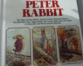 Vintage Beatrix Potter Giant Treasury of Peter Rabbit Very Good Vintage Condition 1980 Free US Shipping