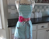 Lily ~ Classy Coastal Chevron Print ~ Easter and Spring Fun ~ Alivia Style ~  4RetroSisters