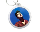 "Morrissey Keyring - BONA DRAG Album Cover Pic on Keychain - Morrissey lead singer of The Smiths from the UK - 1.75"" Keychain"