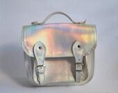 Bag number 3 Vegan non-leather satchel shoulder strap (Handmade to order)