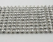 100 pcs Zinc Diamond Studs Leather Craft Decoration Finding 5 mm. KD5