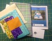Frosty Tea Towel Kit with Pattern