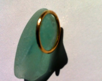 Petite Gold Ring, Stacking Rings, Knuckle Ring, Toe Ring, 14 KT Gold FIlled, Handmade, Hammered - Made to Size