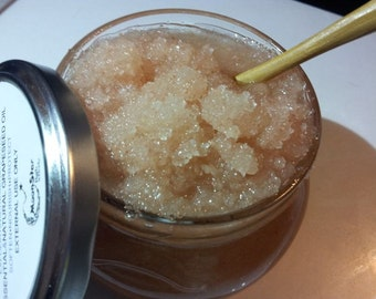 Salt Scrub Pink Himalayan Sea Salt with vitamin E
