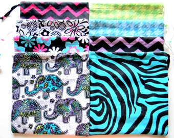 30 Gymnastics Grip Bags or Gift Bags Set of 30 Wholesale Random Assortment or Lot lower price per bag and free shipping