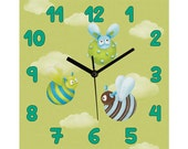 Children /nursery wall clock