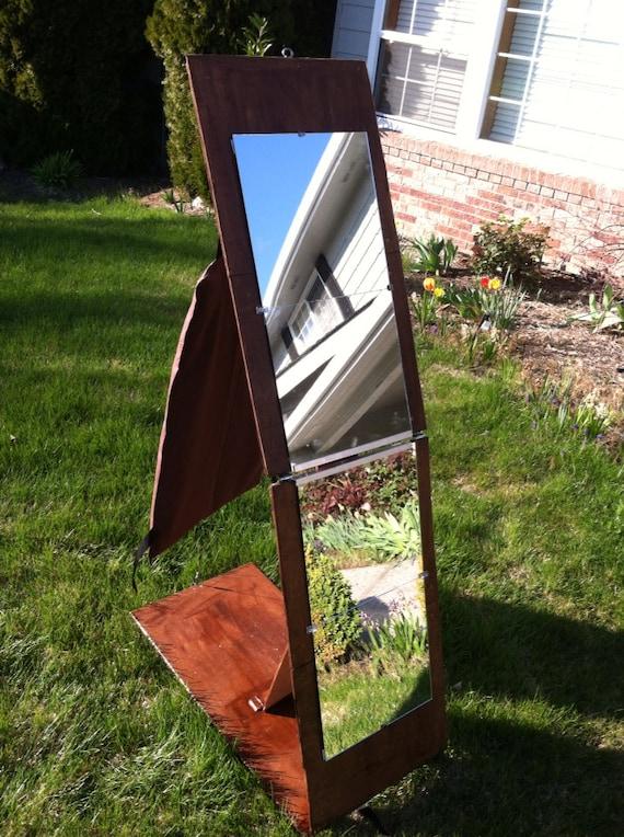 Items Similar To Folding Portable Full Length Mirror