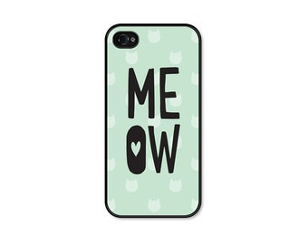 iPhone 6 Case Cat iPhone 6s Case Samsung Galaxy S6 Case iPhone 6s Plus Case Cat iPhone 5 Case iPhone 5s Case Cat iPhone 5c Case Mint Green