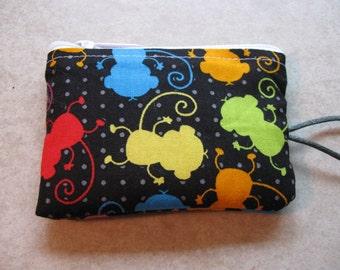 bright monkey bag coin purse