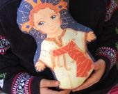 Baby Jesus Doll KIT Christ Child Divino Nino Fabric KIT - Catholic Saint Doll Softie