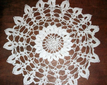 Traditional hand crochet Doily / New/  - made from 100% cotton