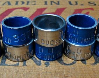 10 Duck Bands / Waterfowl / Bird Bands / Leg Bands / Necklace Bracelet Supply II