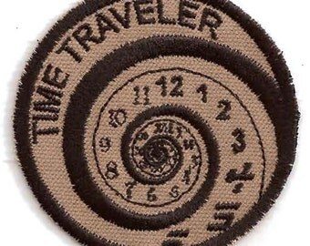 Time Traveler Geek Merit Badge Patch