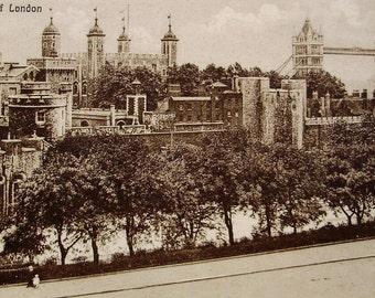 Tower of London, England, UK - Vintage Postcard (Unused)