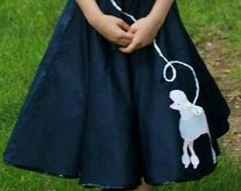 Poodle Skirt with full petticoat