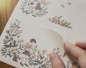 Retro Landscape Paper Stickers - Child (8.3 x 5.9in)