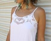 bali cutwork dress // soft white summer dress