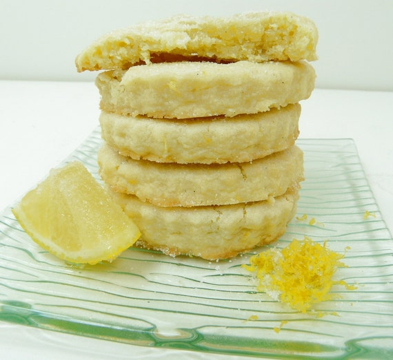 Lemon Shortbread - Just perfect.