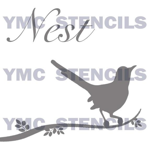 Nest Stencil - 8x8