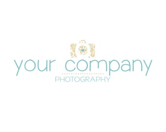 Premade Logo Design L0810 - Custom Logo, Premade Logo, Photography Logo, Boutique Logo, Business Branding - not OOAK
