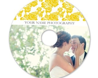 INSTANT DOWNLOAD - Cd/DVD Label Photoshop template - 0828