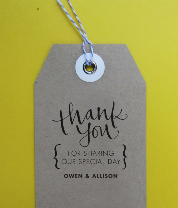 Thank You Note For Wedding Gifts: Thank You Wedding Stamp Handwritten Calligraphy By