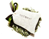 Mugwort Dream Pillow - fragrant wild Artemisia - intuition, remembering dreams and lucid dreaming